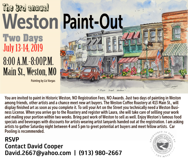 Weston Paint Out